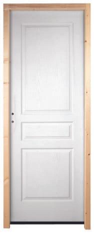 Bloc porte postform en bois 204x83 cm brico d p t - Bloc porte isolante brico depot ...