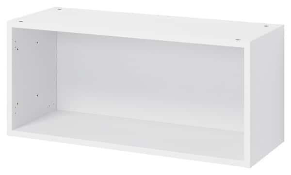 Caisson Sur Hotte L 80 Cm X H 36 Cm X P 32 Cm En Blanc Brico Depot