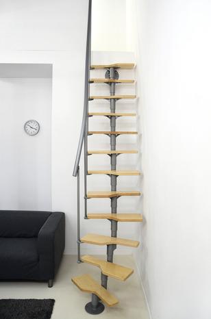 Escalier Modulaire Bouleau Acier Main Courante Pvc Brico Depot