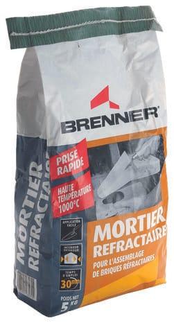 Mortier Refractaire Brenner De 5 Kg Brico Depot