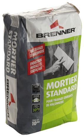 mortier gris de 10 kg brico d p t. Black Bedroom Furniture Sets. Home Design Ideas