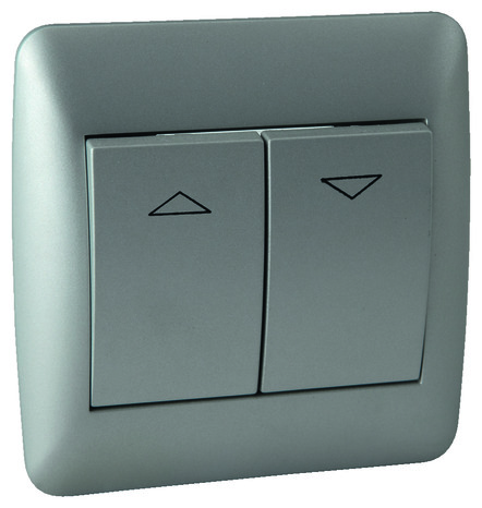 interrupteur volet roulant anthracite brico d p t. Black Bedroom Furniture Sets. Home Design Ideas