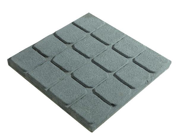 dalles b ton teint es dans la masse ton ardoise brico d p t. Black Bedroom Furniture Sets. Home Design Ideas
