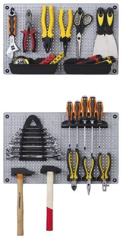 panneau porte outils avec leroy merlin brico depot. Black Bedroom Furniture Sets. Home Design Ideas