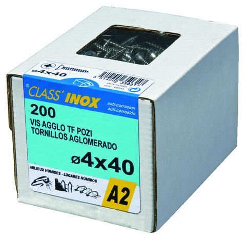 Vis Agglo Inox 4 X 30 Boite De 200 Brico Depot