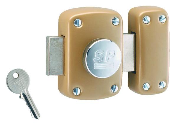 Verrou Brico Dépôt - Porte placard coulissante avec serrure pour porte blindée