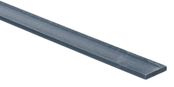 Plat en acier lamin vernis l 1 m l 14 mm ep 5 mm brico d p t - Tube carre acier brico depot ...