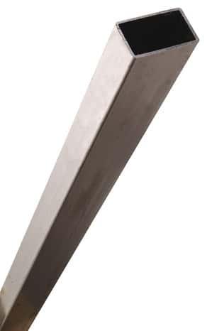 tube rectangulaire en acier paf l 2 50 m l 35 mm h 20. Black Bedroom Furniture Sets. Home Design Ideas