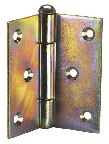 charni re axe mobile en acier bichromat h 50 mm l 50 mm ep 2 mm brico d p t. Black Bedroom Furniture Sets. Home Design Ideas