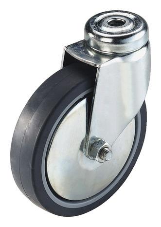 Roulette pivotante il 60 kg sans frein brico d p t - Roulettes brico depot ...