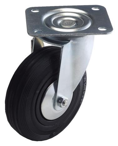 roulette pivotante 100 kg sans frein brico d p t. Black Bedroom Furniture Sets. Home Design Ideas