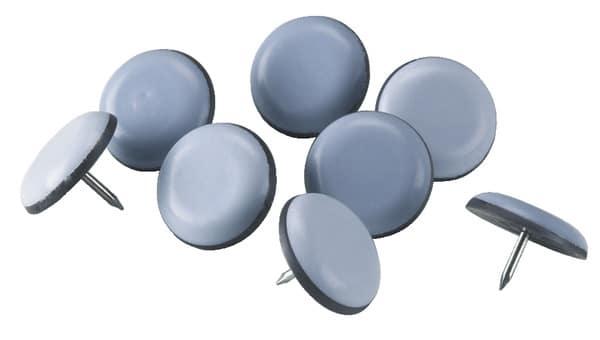 patins glisseurs clouer 30 mm bo te de 8 brico d p t. Black Bedroom Furniture Sets. Home Design Ideas