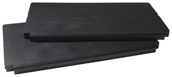 Kit 2 tablettes pour armoire xl brico d p t - Armoire resine brico depot ...