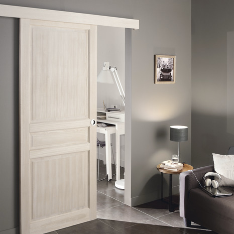Syst me coulissant en applique syst me coulissant brico for Porte coulissante en applique grande largeur