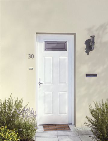 porte d 39 entr e m tal droite brico d p t. Black Bedroom Furniture Sets. Home Design Ideas