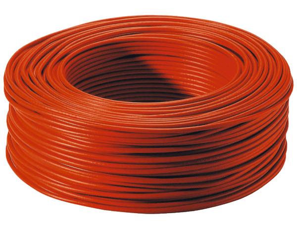 Fil d 39 installation rouge ep 2 5 mm l 100 m brico d p t - Cable electrique brico depot ...