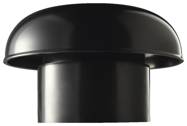 chapeau de ventilation 100 mm brico d p t. Black Bedroom Furniture Sets. Home Design Ideas