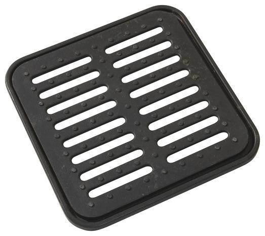 grille en fonte ductible longueur 360 mm de couleur noire brico d p t. Black Bedroom Furniture Sets. Home Design Ideas