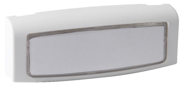 Bouton poussoir lumineux ext rieur pour carillon sonnette for Bouton de sonnette exterieur legrand