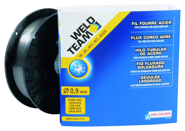 bobine de fil fourr acier 0 9 mm 4 kg brico d p t. Black Bedroom Furniture Sets. Home Design Ideas