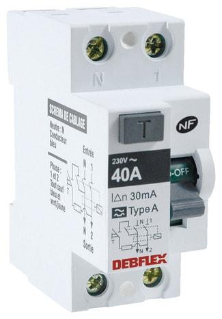 Interrupteur Diffrentiel  Vis Type Ac  AMa  Brico Dpt