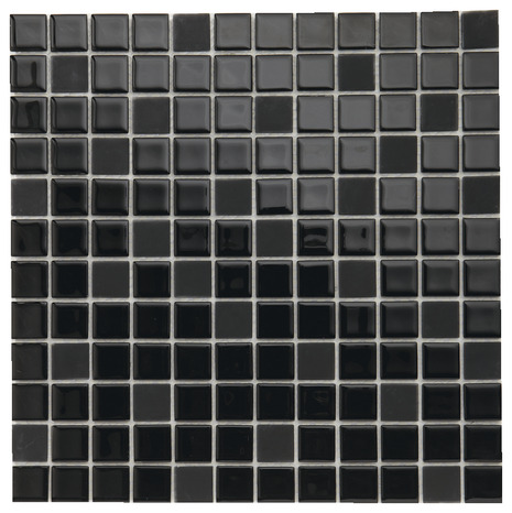 mosa que de verre noir brico d p t. Black Bedroom Furniture Sets. Home Design Ideas