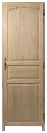 Porte de placard sur cadre en fr ne 1200 x 1835 mm brico d p t - Encadrement porte placard ...