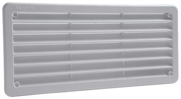 grille pvc encastrable 270 x 120 mm brico d p t. Black Bedroom Furniture Sets. Home Design Ideas
