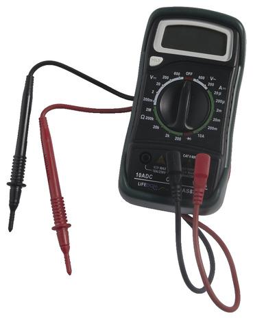 Multimetre Digital 600v Cat Ii Brico Depot
