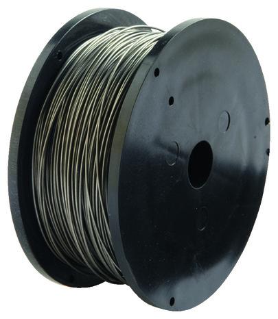 bobine de fil fourr acier 0 9 mm 450 g brico d p t. Black Bedroom Furniture Sets. Home Design Ideas