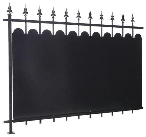 Panneaux De Cloture Metal L 1 5 M X L 1 2 M Brico Depot