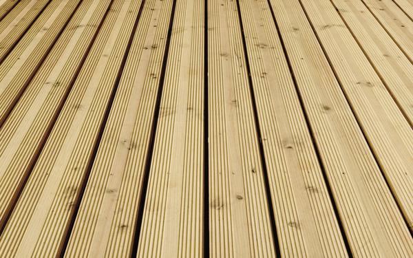 Lames De Terrasse En Douglas L 4 M X L 13 5 Cm X Ep 25 Mm