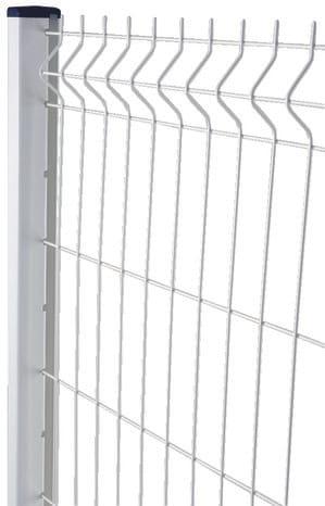 panneau rigide blanc l 2 x h 1 03 m maille 200 x 50 mm brico d p t. Black Bedroom Furniture Sets. Home Design Ideas