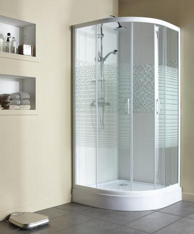 acc s d 39 angle circulaire aqua s rigraphi h 185 cm l 80 cm brico d p t. Black Bedroom Furniture Sets. Home Design Ideas