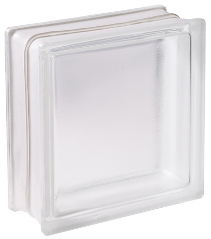 brique de verre nuage blanc l 19 cm l 19 cm ep 8 cm 5 pi ces brico d p t. Black Bedroom Furniture Sets. Home Design Ideas