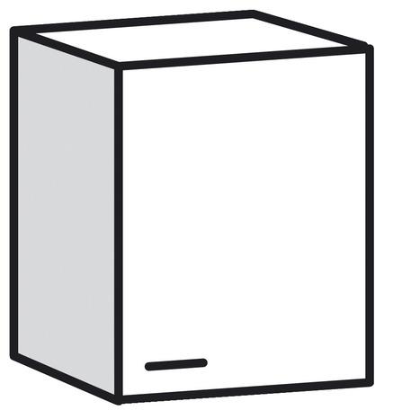 meuble haut 1 porte bali blanc l 60 x h 69 x p 31 6 cm