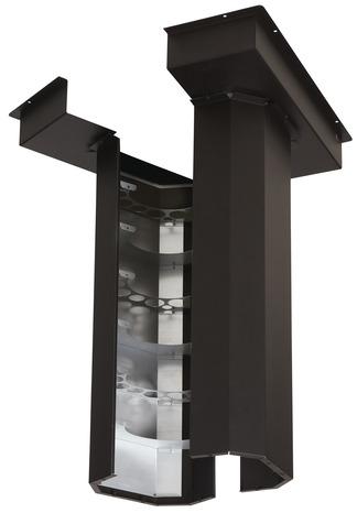 r cup rateur de chaleur pour po le bois brico d p t. Black Bedroom Furniture Sets. Home Design Ideas