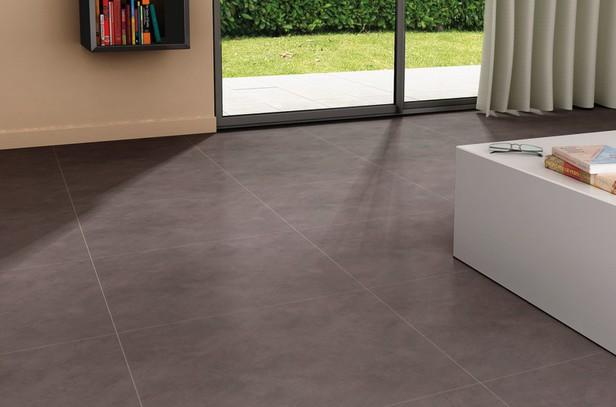 dalle pvc adh sive d cor anthracite 45 7 x 45 7 cm brico d p t. Black Bedroom Furniture Sets. Home Design Ideas