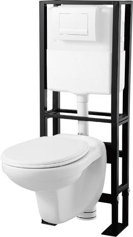 pack wc suspendu sol sienne 3 6 l brico d p t. Black Bedroom Furniture Sets. Home Design Ideas