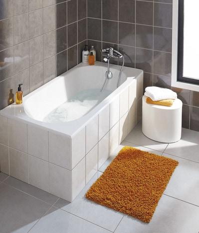 baignoire droite troyes l 140 x l 70 cm brico d p t. Black Bedroom Furniture Sets. Home Design Ideas