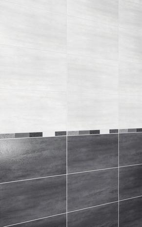 Faïence Murale Slitta Gris 25 5 X 40 5 Cm