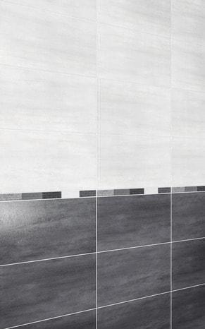 Faience Murale Slitta Gris Fonce 25 5 X 40 5 Cm Brico Depot