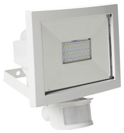 projecteur led a detection blanc blanc brico d p t. Black Bedroom Furniture Sets. Home Design Ideas