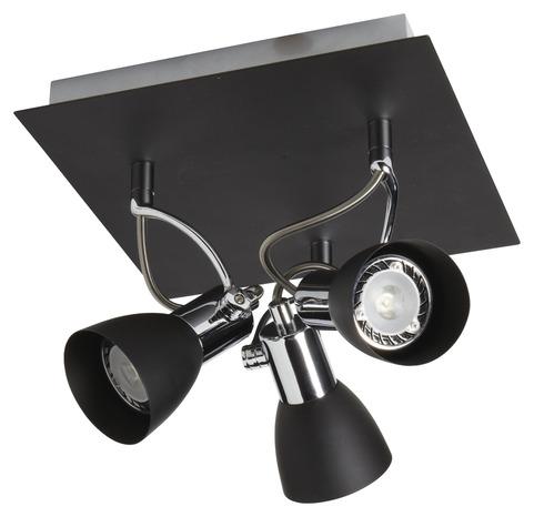plafonnier 3 spots brico d p t. Black Bedroom Furniture Sets. Home Design Ideas