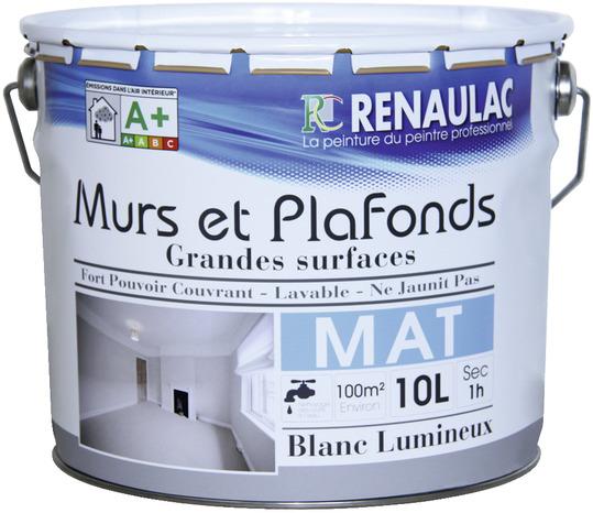 Peinture Murs Et Plafonds Mat 10 L 10 L Brico Depot