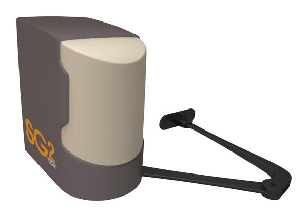 motorisation bras articul s pour portail battant sg2 brico d p t. Black Bedroom Furniture Sets. Home Design Ideas