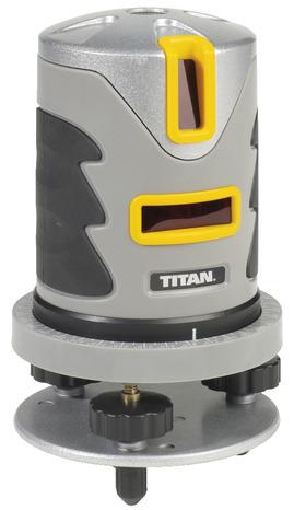 Niveau laser rotatif auto ajustable pro titan brico d p t for Niveau laser interieur exterieur