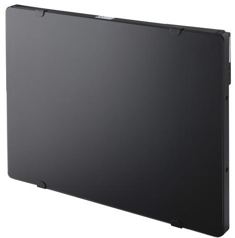 panneau rayonnant verre noir programmable 1000w 1 000 w h. Black Bedroom Furniture Sets. Home Design Ideas
