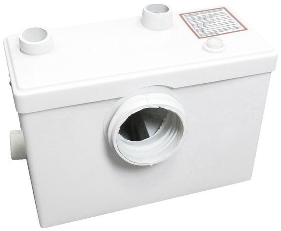 broyeur wc puissance 600 w avec moteur haute r sistance en aluminium brico d p t. Black Bedroom Furniture Sets. Home Design Ideas
