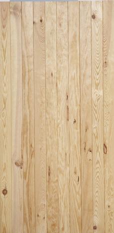 Lambris en bois de pin maritime noueux L. 2 m l. 10 cm Ep. 10 mm